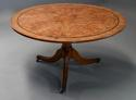 Late 19th century burr elm breakfast table - picture 4
