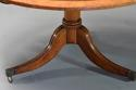 Late 19th century burr elm breakfast table - picture 9