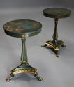 Pair of highly decorative Regency style lacquered occasional tables - picture 1