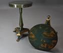 Pair of highly decorative Regency style lacquered occasional tables - picture 5