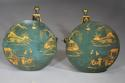 Pair of highly decorative Regency style lacquered occasional tables - picture 6