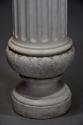 19thc life size marble bust on stand of Ceres signed 'S.KITSON' - picture 13
