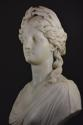 19thc life size marble bust on stand of Ceres signed 'S.KITSON' - picture 5