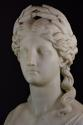 19thc life size marble bust on stand of Ceres signed 'S.KITSON' - picture 6
