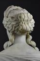19thc life size marble bust on stand of Ceres signed 'S.KITSON' - picture 9