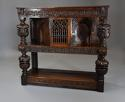 Superb oak livery cupboard of good proportions & wonderful patina - picture 1