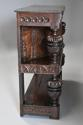 Superb oak livery cupboard of good proportions & wonderful patina - picture 10