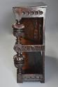 Superb oak livery cupboard of good proportions & wonderful patina - picture 11