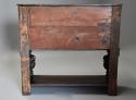 Superb oak livery cupboard of good proportions & wonderful patina - picture 13