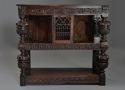 Superb oak livery cupboard of good proportions & wonderful patina - picture 2
