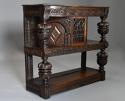 Superb oak livery cupboard of good proportions & wonderful patina - picture 3