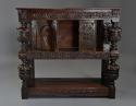 Superb oak livery cupboard of good proportions & wonderful patina - picture 4