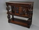 Superb oak livery cupboard of good proportions & wonderful patina - picture 6