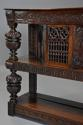 Superb oak livery cupboard of good proportions & wonderful patina - picture 7