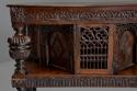 Superb oak livery cupboard of good proportions & wonderful patina - picture 8
