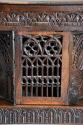 Superb oak livery cupboard of good proportions & wonderful patina - picture 9