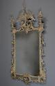 Pair of highly decorative Chippendale style carved wooden pier mirrors - picture 3