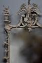 Pair of highly decorative Chippendale style carved wooden pier mirrors - picture 5