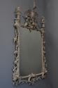 Pair of highly decorative Chippendale style carved wooden pier mirrors - picture 6