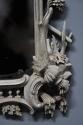 Pair of highly decorative Chippendale style carved wooden pier mirrors - picture 7
