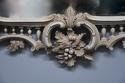Pair of highly decorative Chippendale style carved wooden pier mirrors - picture 8