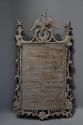 Pair of highly decorative Chippendale style carved wooden pier mirrors - picture 9