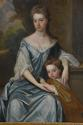 Large 18thc oil painting 'Lady & Child', attributed to Michael Dahl - picture 6
