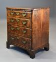 Extremely rare 18thc walnut chest of drawers in untouched condition - picture 3