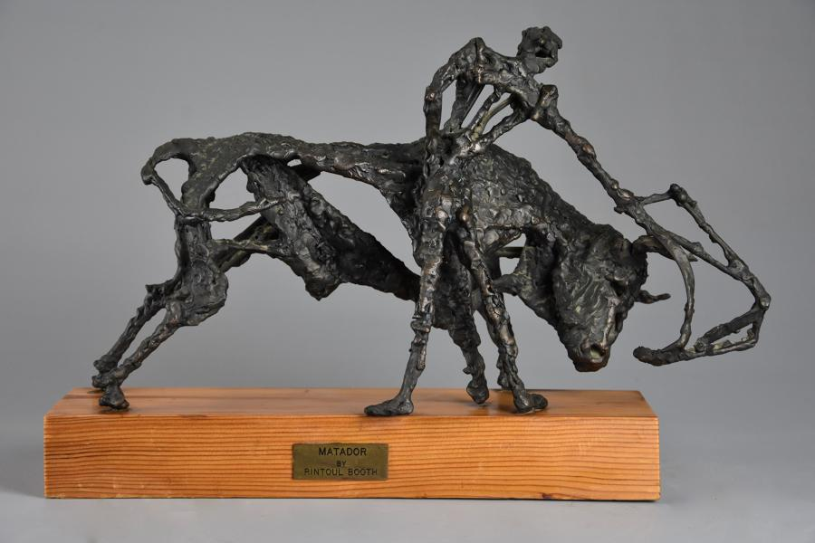 'The Matador' bronze sculpture by Rintoul Booth